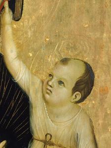 Crevole Madonna, 1283-1284 by Duccio Di buoninsegna