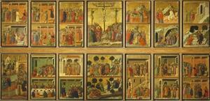 Episodes from Christ's Passion and Resurrection by Duccio Di buoninsegna