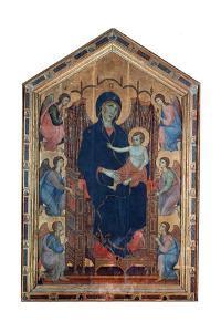 'Madonna and Child', (Rucellai Madonna), 1285.  Artist: Duccio di Buoninsegna by Duccio di Buoninsegna