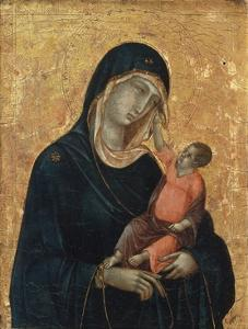 Madonna and Child by Duccio di Buoninsegna