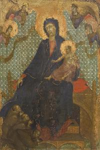 Madonna of Franciscans by Duccio Di buoninsegna