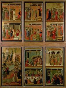Maesta: Eleven Scenes from the Passion, 1308-11 by Duccio Di buoninsegna