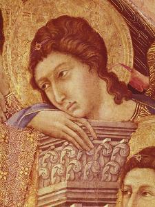 Maesta' of Duccio Altarpiece in Cathedral of Siena by Duccio Di buoninsegna