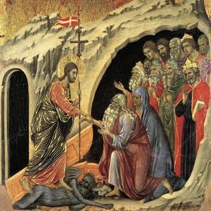 Maestà - Passion: Descent To Hell, 1308-1311 by Duccio Di buoninsegna