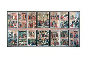'Maesta', (Stories of the Passion), 1308-1311. Artist: Duccio di Buoninsegna by Duccio di Buoninsegna