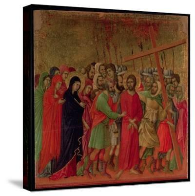 Maesta: the Road to Calvary, 1308-11