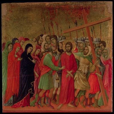 Maesta: the Road to Calvary, 1308-11