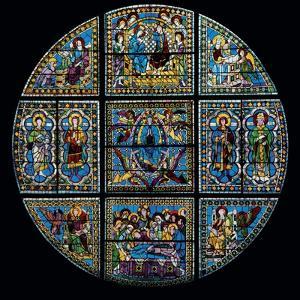 Stained Glass Window by Duccio Di buoninsegna