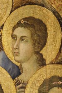 The Maesta' in the Cathedral of Siena, 1308-1311 by Duccio Di buoninsegna