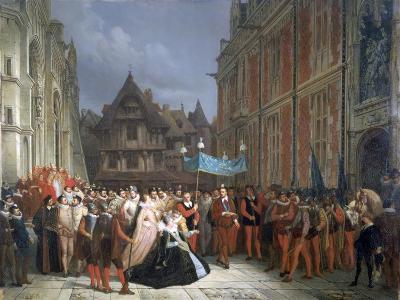 Duchess of Montpensier, 1864-Ary Scheffer-Giclee Print