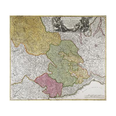 Duchy of Savoy, Principality of Piedmont, Duchy of Monferrato and County of Nice--Giclee Print