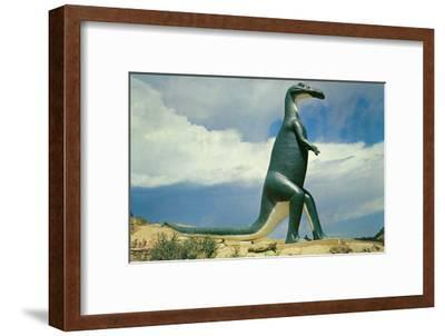 Duck-Billed Dinosaur, Retro