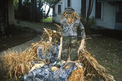 Duck Decoys, Scarecrow, Wings over the Prairie Festival, Stuttgart, Arkansas--Photographic Print