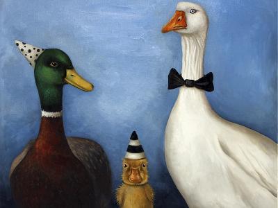 Duck Duck Goose-Leah Saulnier-Giclee Print