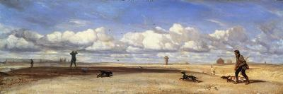 Duck Hunters, 1843-Alexandre Gabriel Decamps-Giclee Print