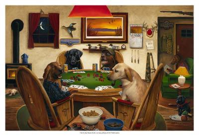 Duck Hunters-Leo Stans-Art Print