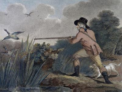 Duck Hunting, 1790-Thomas Simpson-Giclee Print
