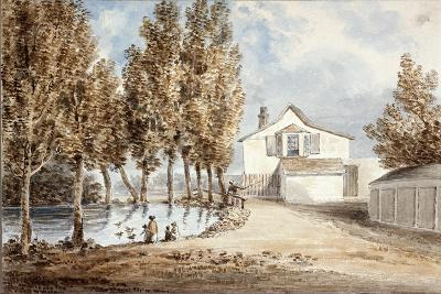 Duck Pond at St Marylebone, C1802--Giclee Print