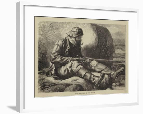 Duck-Shooting in the North-John Dawson Watson-Framed Giclee Print