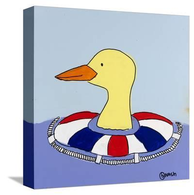 Duck-Brian Nash-Stretched Canvas Print