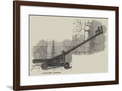 Ducking-Stool, Leominster--Framed Giclee Print
