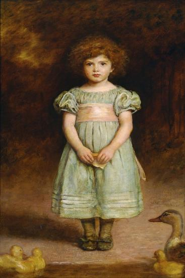 Ducklings-John Everett Millais-Giclee Print
