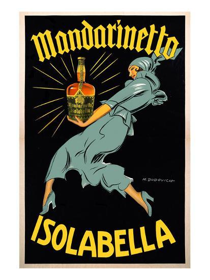 Dudovich-Mandarinetto Isolabella- Dudovich-Art Print