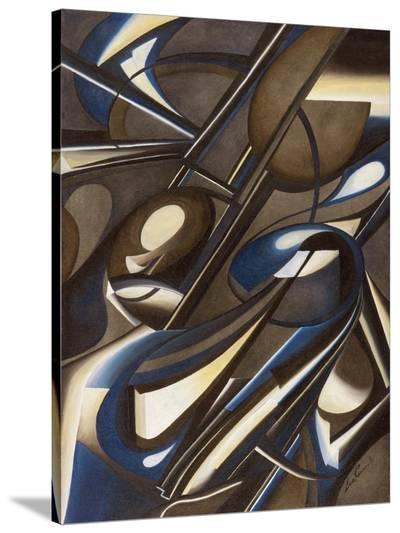 Due di due-Laura Ceccarelli-Stretched Canvas Print