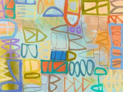 Duet Series I-Janet Richardson-Baughman-Art Print