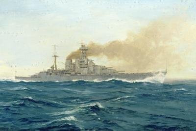 HMS Hood, 1919 by Duff Tollemache