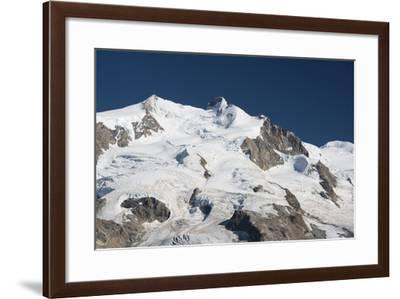 Dufourspitze from the Gornergrat, Valais, Switzerland-Rainer Mirau-Framed Photographic Print