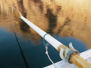 A Close View of a Boats Oar by Dugald Bremner