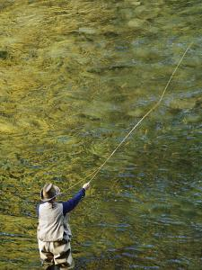 Fly-Fishing on the Wind River by Dugald Bremner