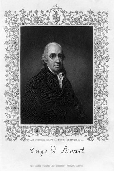 Dugald Stewart, 19th Century-William Home Lizars-Giclee Print