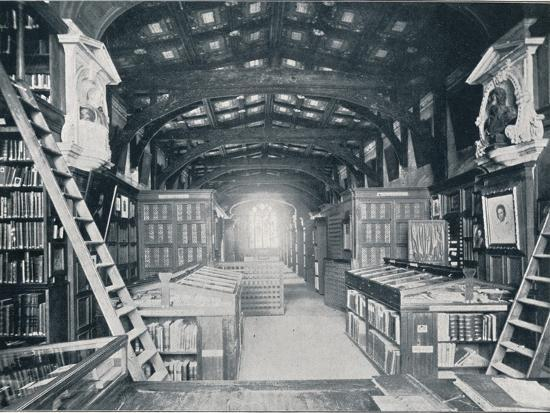 Duke Humphrey's Library, c1902-Unknown-Photographic Print