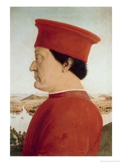 Duke of Urbino-Piero della Francesca-Giclee Print