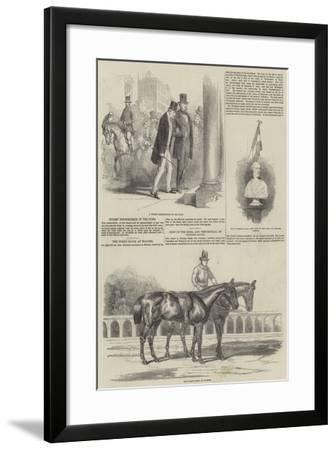 Duke of Wellington-Sir John Gilbert-Framed Giclee Print