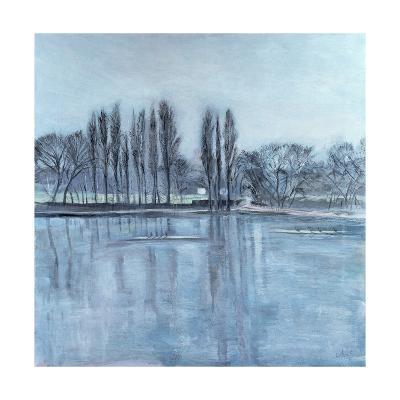 Dukes Meadow's, Towards Putney-On-Thames-Sophia Elliot-Giclee Print