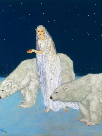 Dulac: The Ice Maiden, 1915-Edmund Dulac-Giclee Print