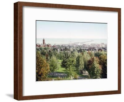 Duluth from Cascade Park Minnesota--Framed Giclee Print
