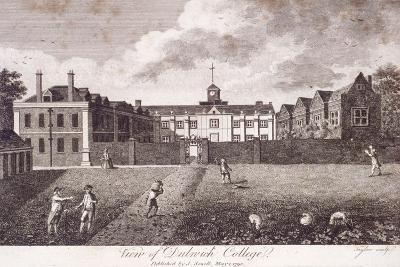 Dulwich College, Camberwell, London, 1790-Taylor-Giclee Print