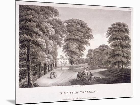 Dulwich College, Camberwell, London, 1792-William Ellis-Mounted Giclee Print