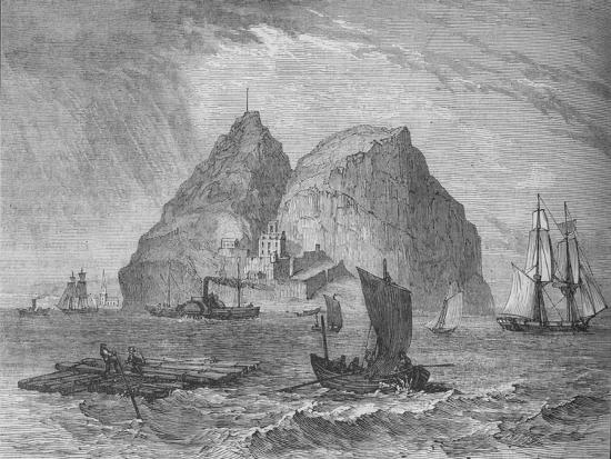 'Dumbarton Castle', c1880-Unknown-Giclee Print