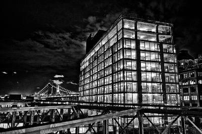 Dumbo and the Manhattan Bridge Seen from the Brooklyn Bridge-Kike Calvo-Photographic Print