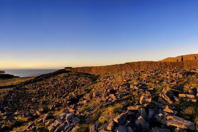 Dun Aengus Fort on the Aran Islands, West Coast of Ireland-Chris Hill-Photographic Print