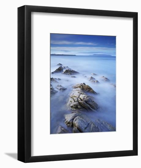 Dun Laoghaire Pier and Howth Island, Dublin, County Dublin, Republic of Ireland, Europe-Jeremy Lightfoot-Framed Photographic Print
