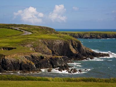 Dunabrattin Head, the Copper Coast, County Waterford, Ireland--Photographic Print