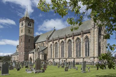 Dunblane Cathedral from the Southeast, Dunblane, Stirling, Cotland, United Kingdom-Nick Servian-Photographic Print