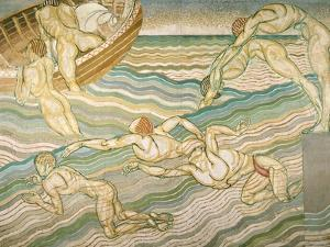 Bathing by Duncan Grant