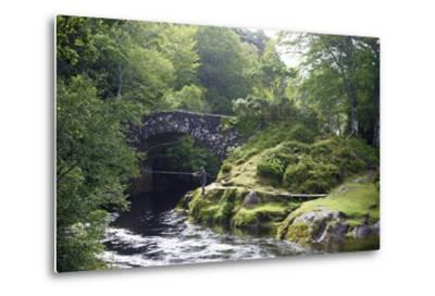 Fly Fishing on the River Shiel, Near Acharacle, Invernesshire, Scotland, United Kingdom, Europe